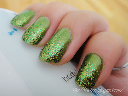 St. Patrick's Day Makeup and Manicures