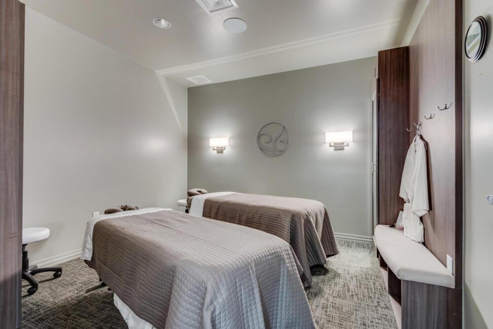 Massage room at hr