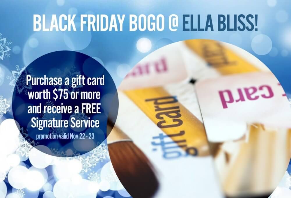 Black Friday BOGO Promo