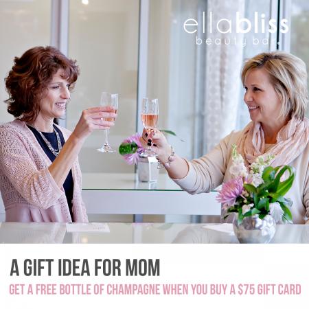 Visit Ella Bliss Beauty Bar to Purchase May 1st – May 15th