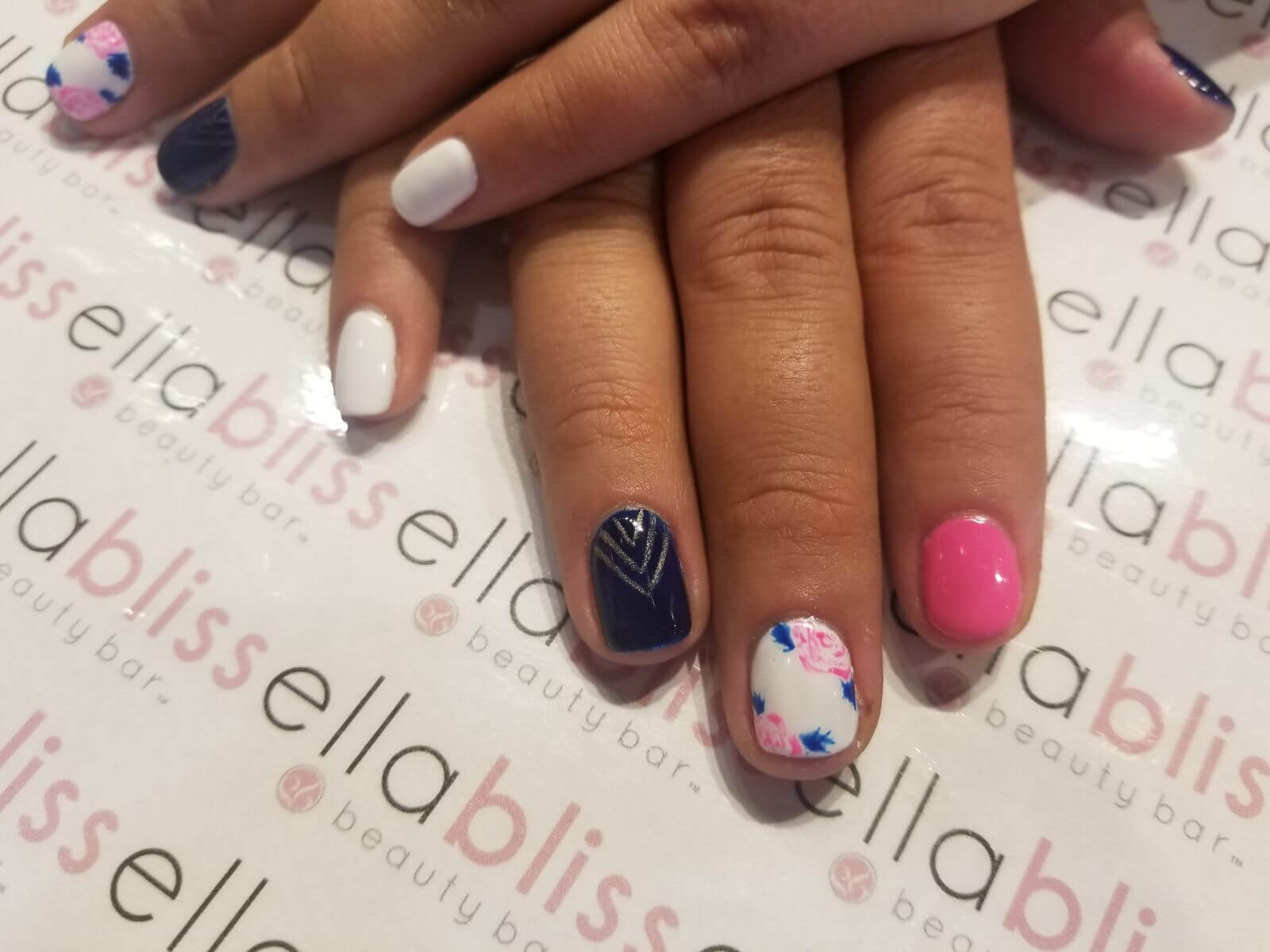 Were Totally Nailing Beautiful Nail Art Ella Bliss Beauty Bar