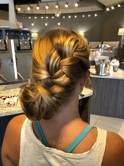 updo by shelby